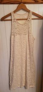 Creme lace dress